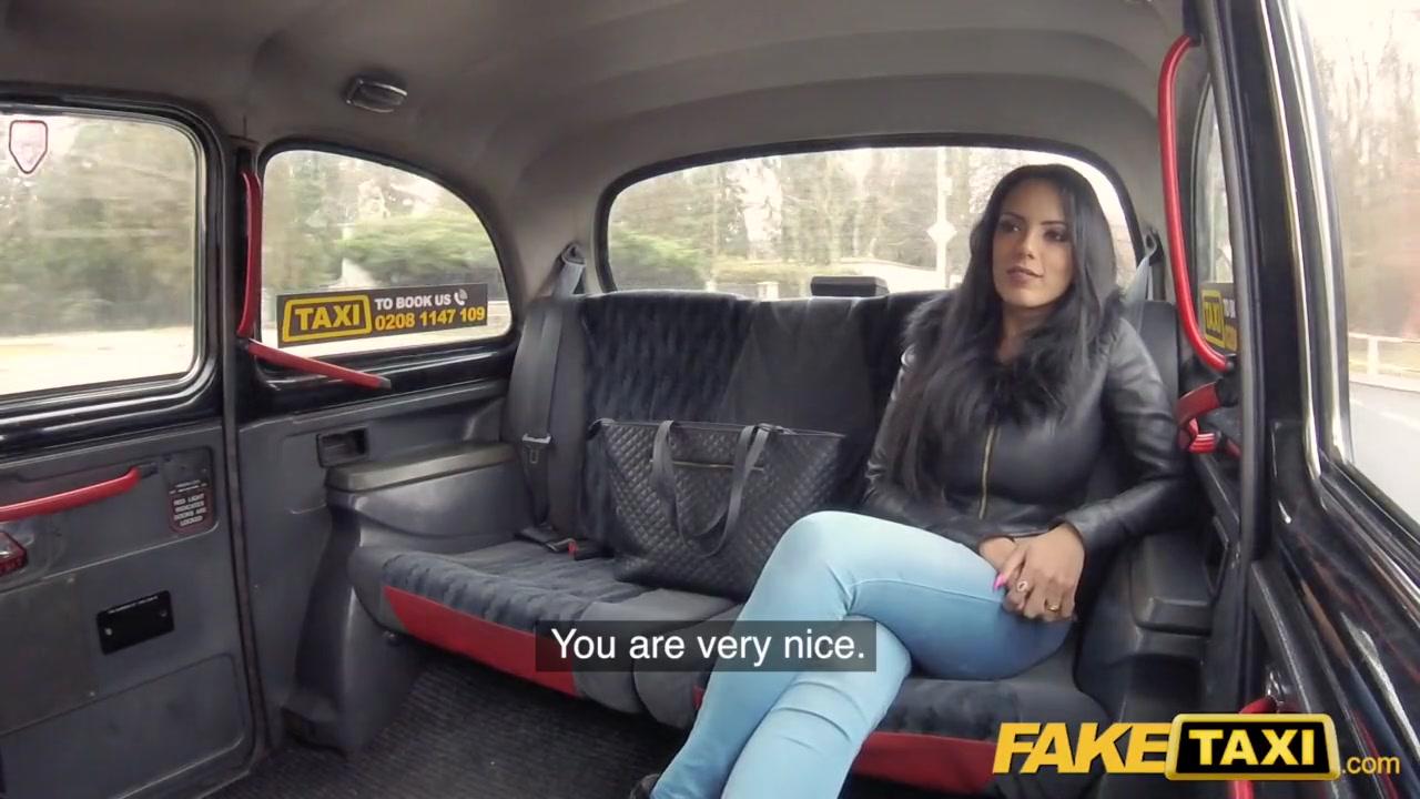 Fake Taxi British Creampie